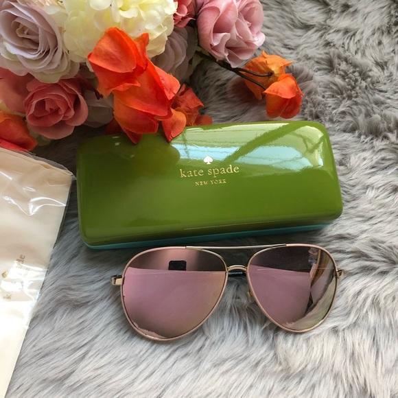 037503deb kate spade Accessories - Kate Spade Amarissa Aviator Sunglasses